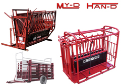 Pearson Livestock Equipment, Cattle Chutes & Working Systems, The best on the Market, Straight Sided Chute, Great Prices