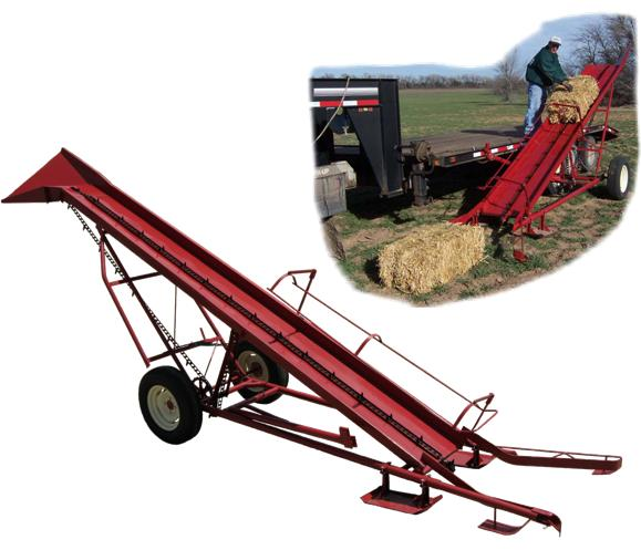 My-D Han-D Adjusta Height Bale Loader