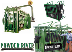 Powder River Cattle Chutes