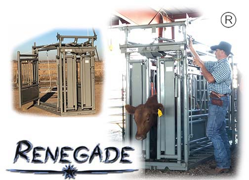 Manual Amp Hydraulic Chutes For Cattle Amp Bison Renegade