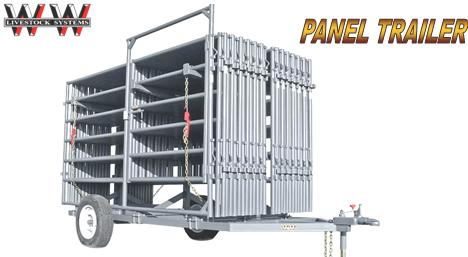 Ww Express Panel Trailer And 14 Ww Portable Loading Chute